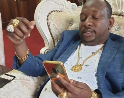 Mike Sonko embarks on weight loss journey, years after letting his body go!