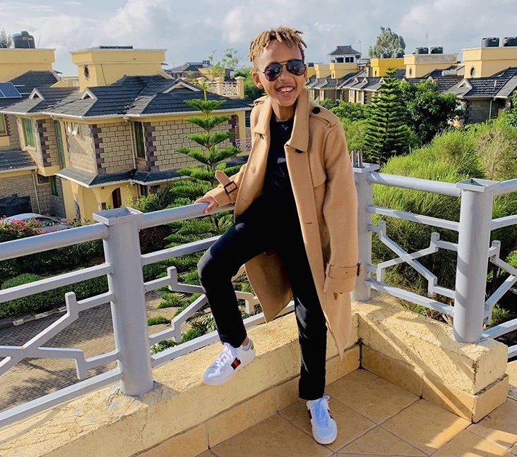 Amber Ray's stylish son turning heads on social media with his fashionable looks! (Photos)