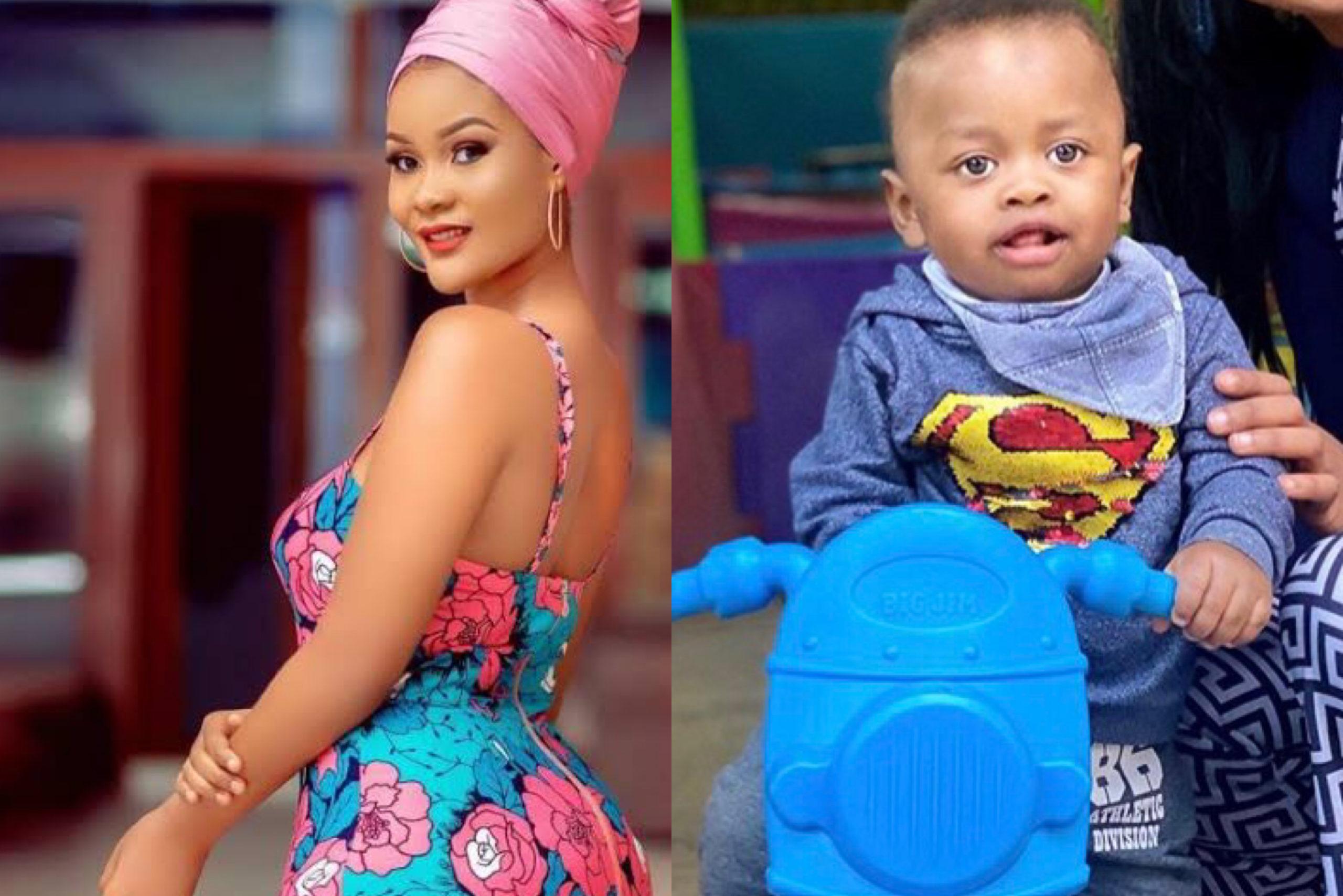 Priceless! Hamisa Mobetto reaction towards baby Naseeb Junior's new photo excites fans!