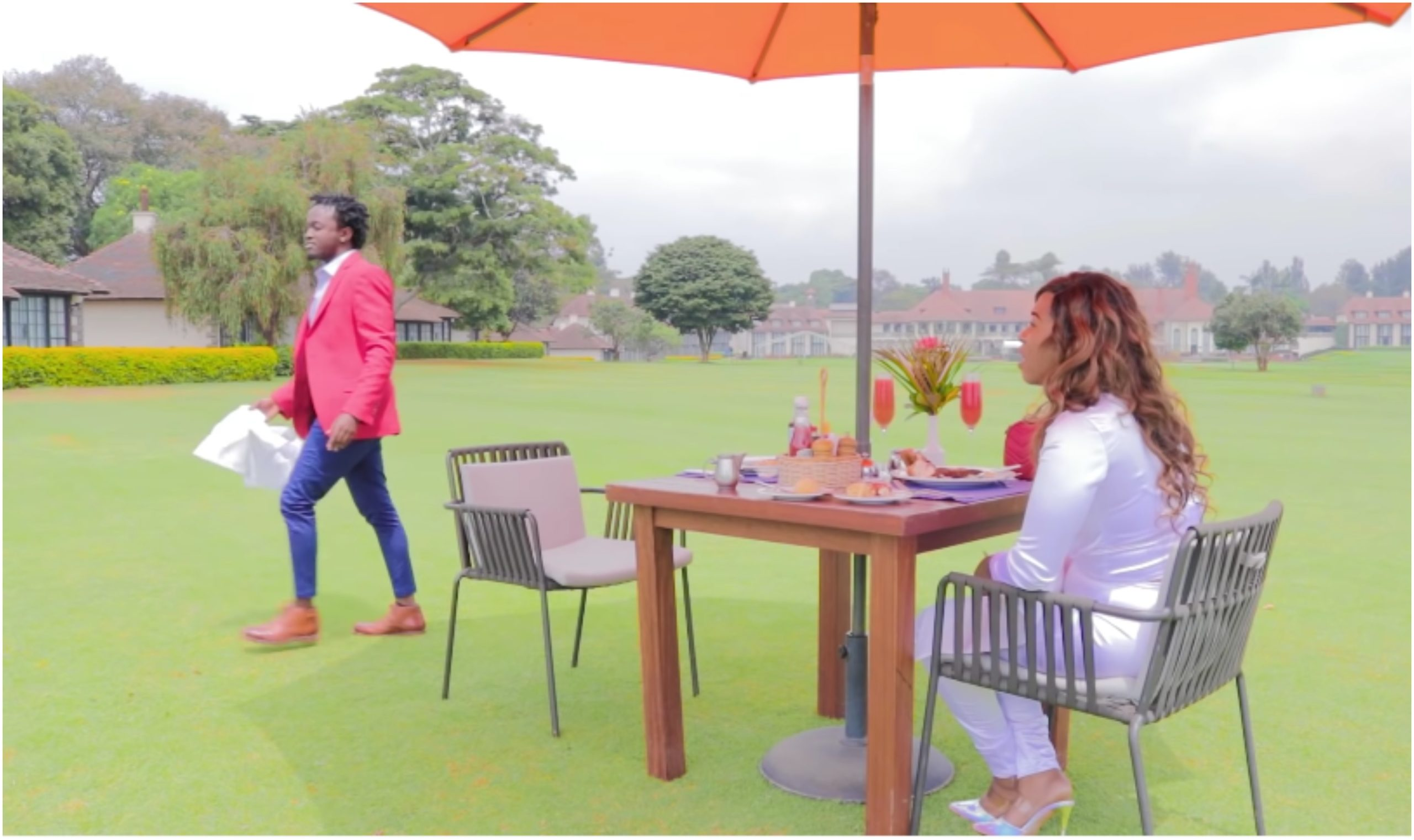 Bahati walks out on Diana Marua after demanding for baby number 3, blasts her for starving him in bed (Video)