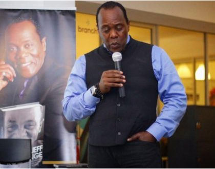 Jeff Koinange's untamed reaction after his second round of Covid-19 results come out (Photo)