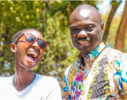 Tables turn! Comedian Eddie Butita strongly refutes claims his wife Mammito is expectant, explains the situation (Video)