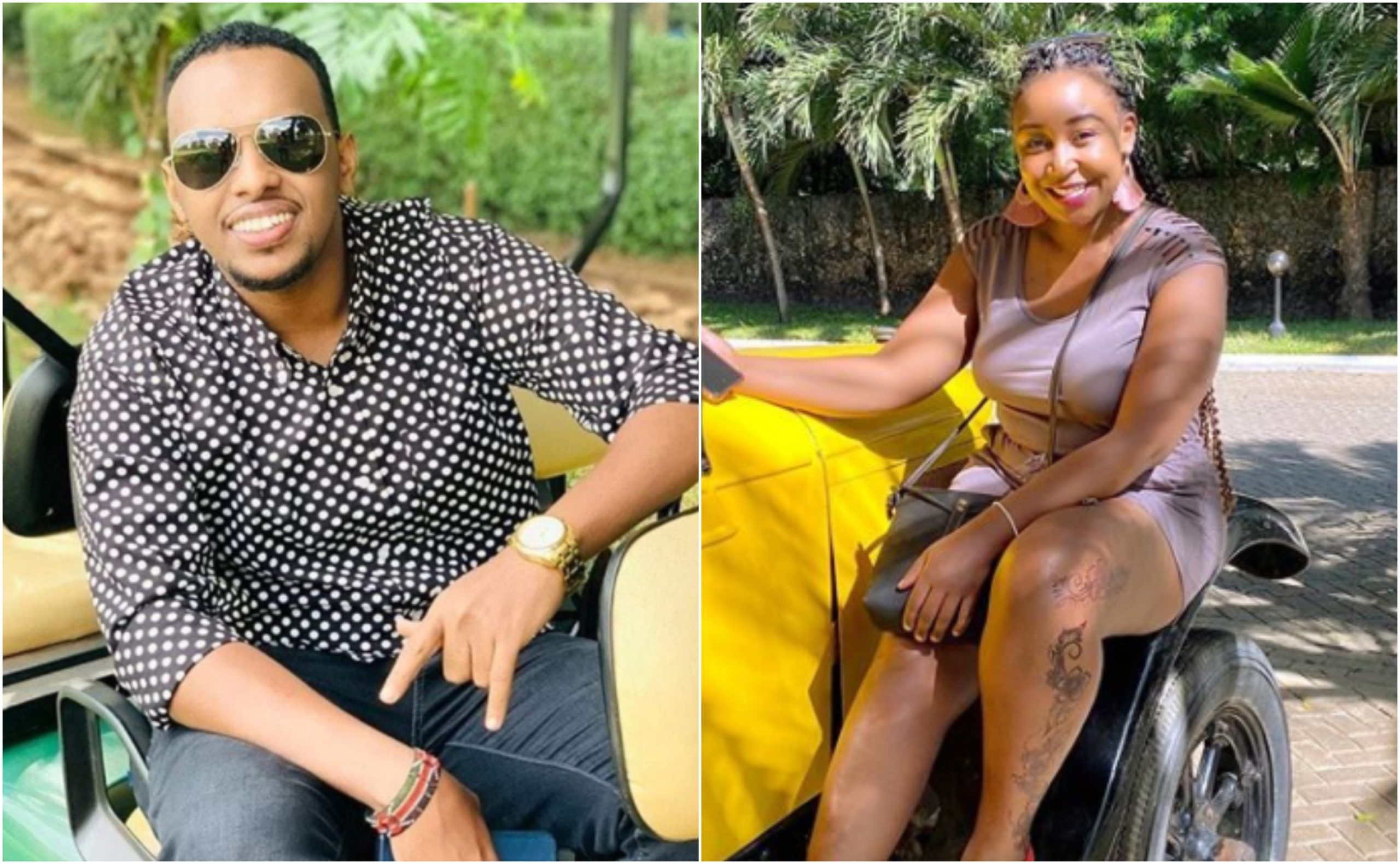 Somali bae's morning message to Betty Kyallo confirms love speculations