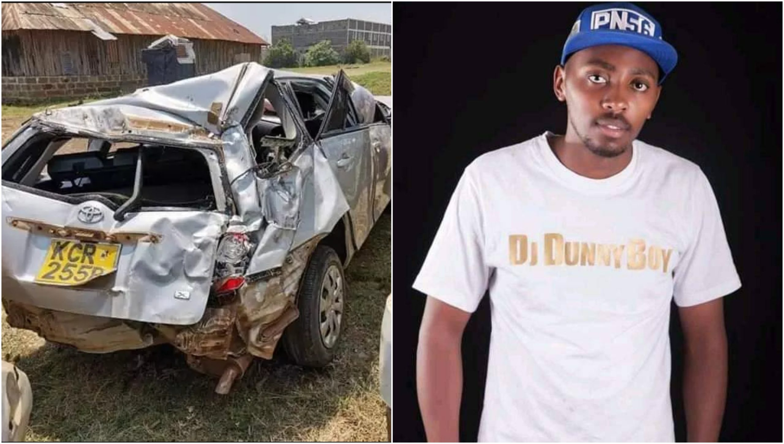 RIP! Popular Kenyan DJ dies in tragic road accident