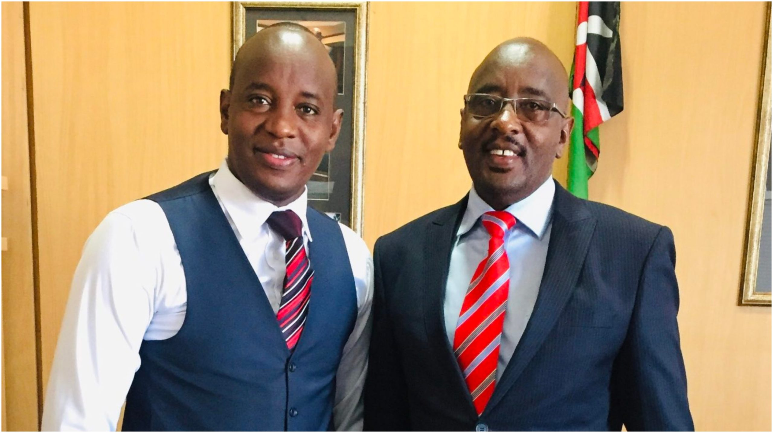 Linus Kaikai's last words to late brother ahead of his burial
