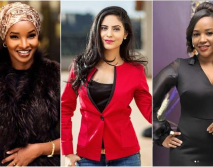 6 female Kenya's celebrity journalists born of mixed descent
