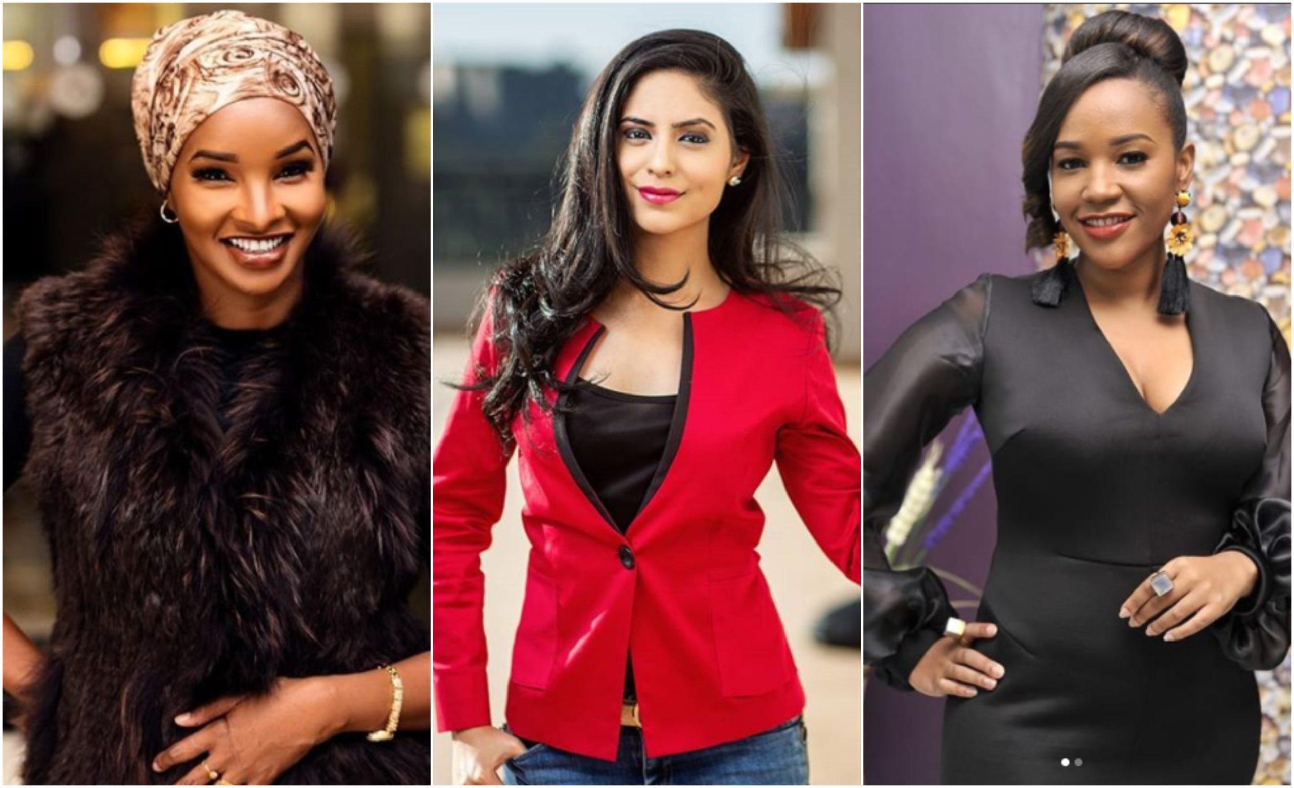 6 female Kenya celebrity journalists born of mixed descent