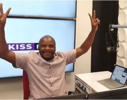 """""""Kimeumana!"""" Jalang'o cries out after Kamene Goro takes a break from morning show"""
