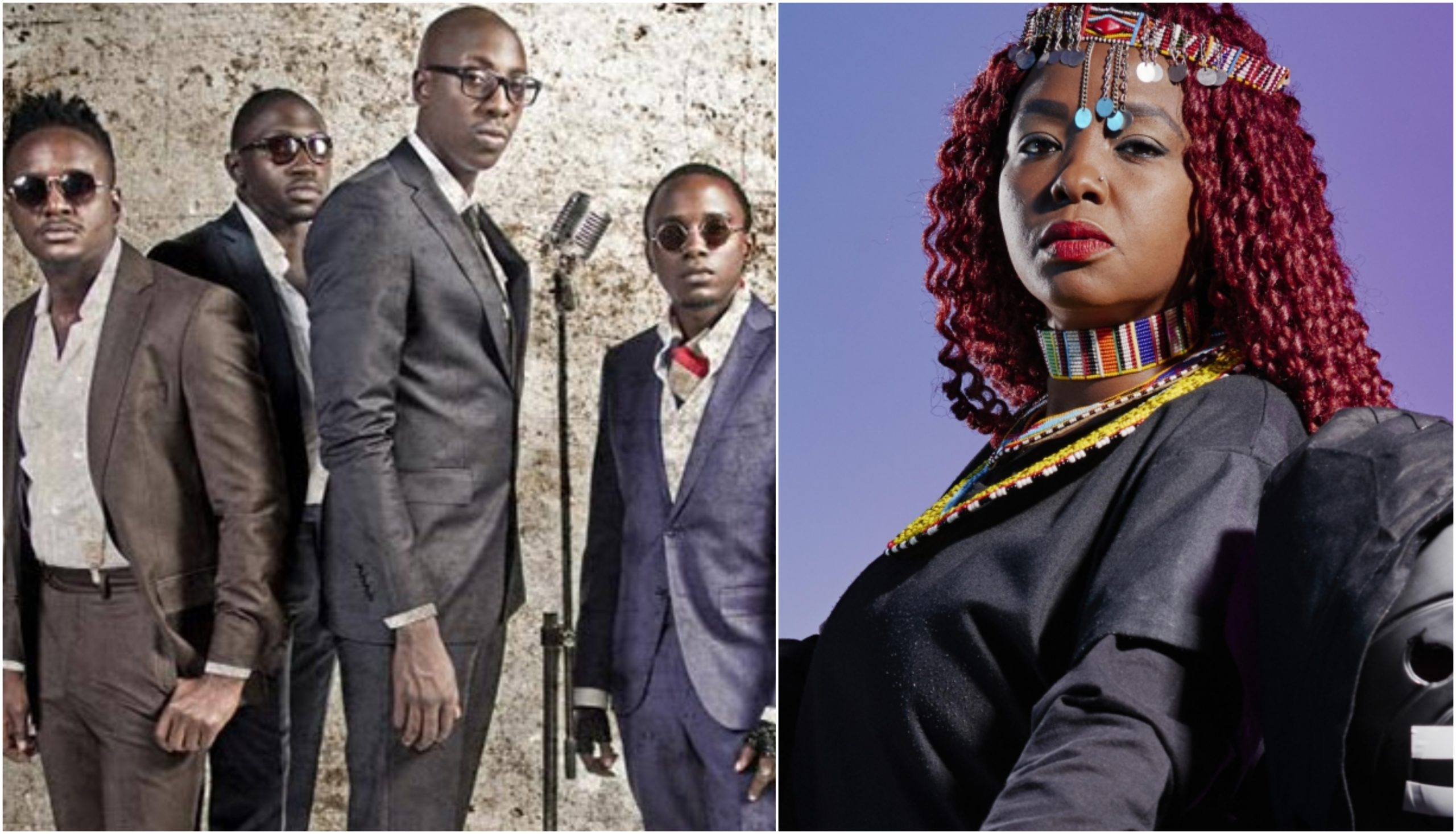 """You gave me alot of sh!t,"" Muthoni Drummer Queen blasts Sauti Sol for being rude and immature (Video)"