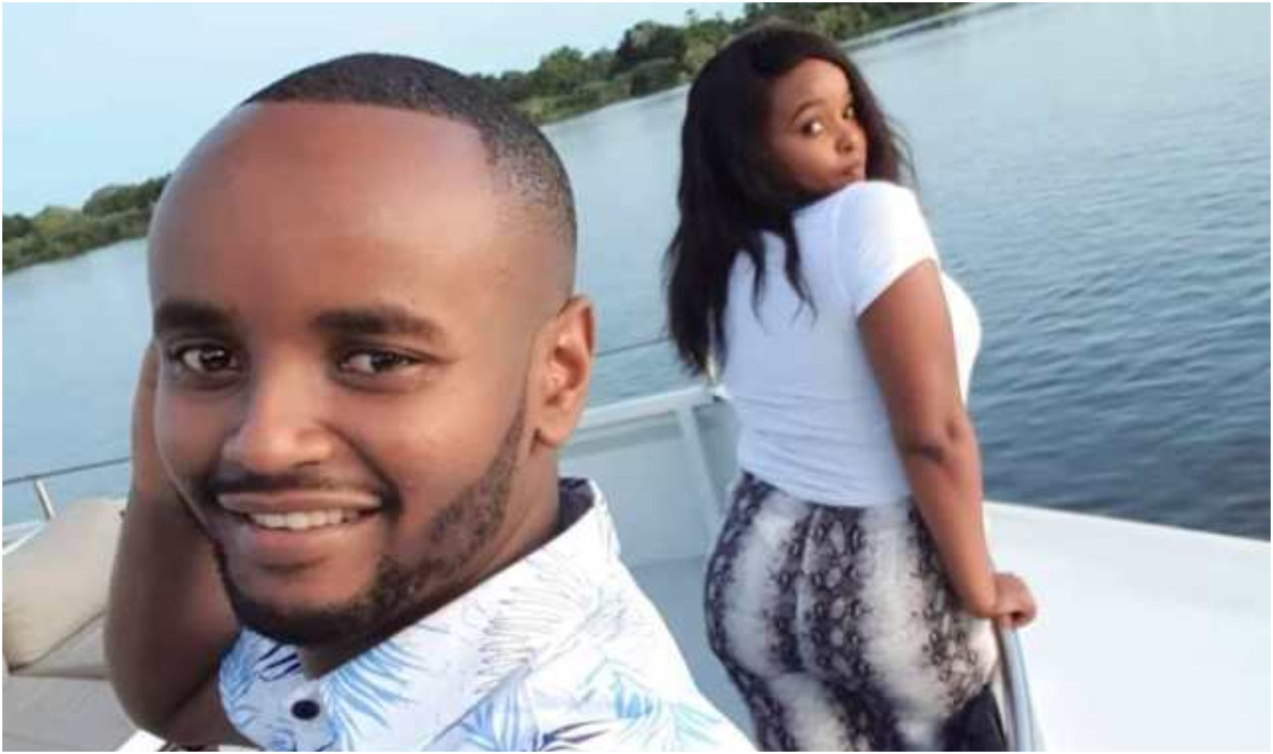 Wild reactions after Kabi WaJesus caught on camera wiggling waist with Arab babe during Dubai baecation (Video)