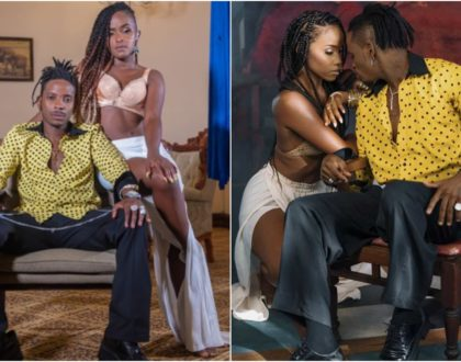 Eric Omondi leaves fans in stitches after dropping own version of Diamond Platnumz 'Jeje' jam (Video)