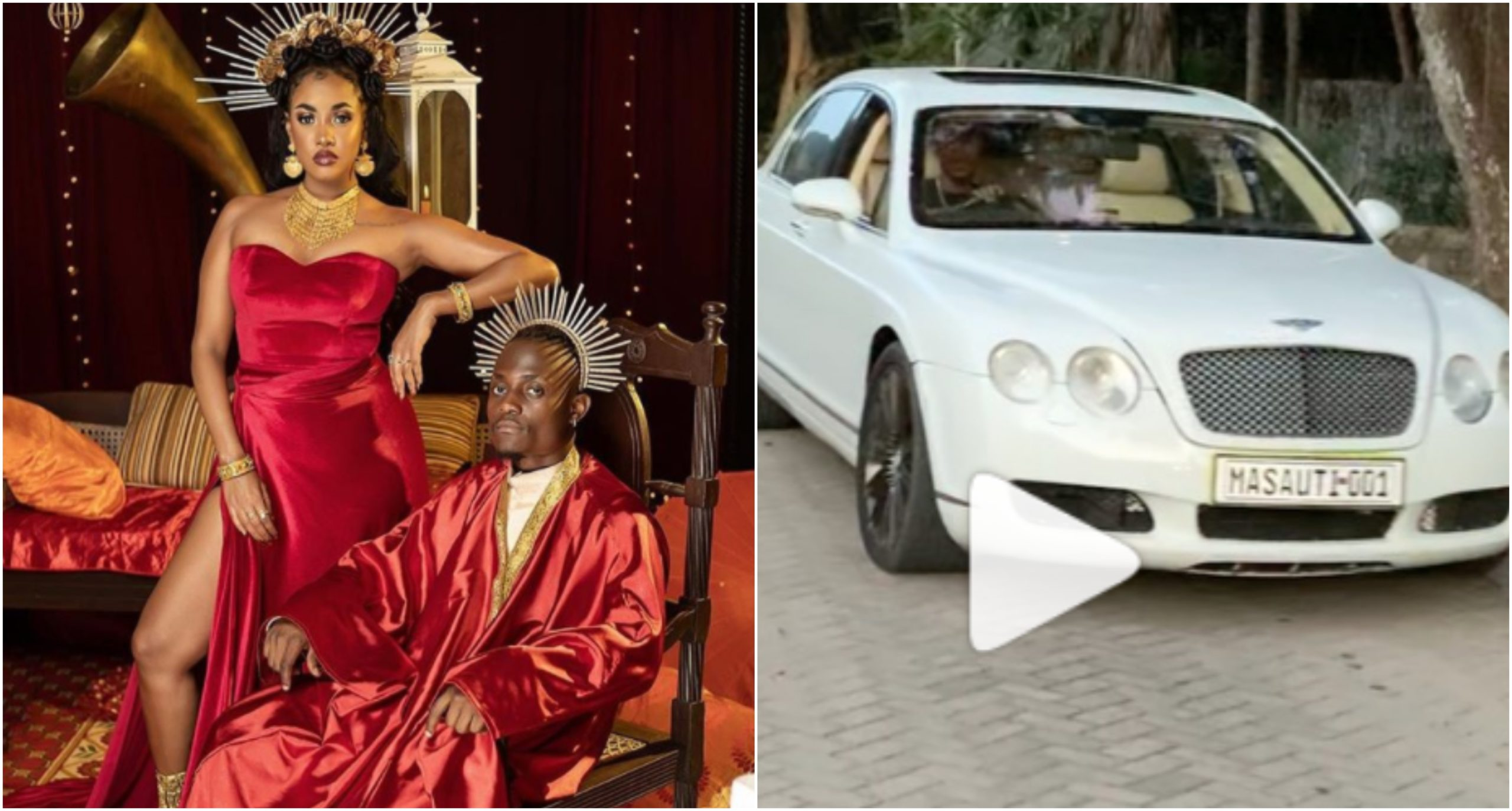 Lanes! Masauti gifted posh Bentley ride day after EP release (Video)