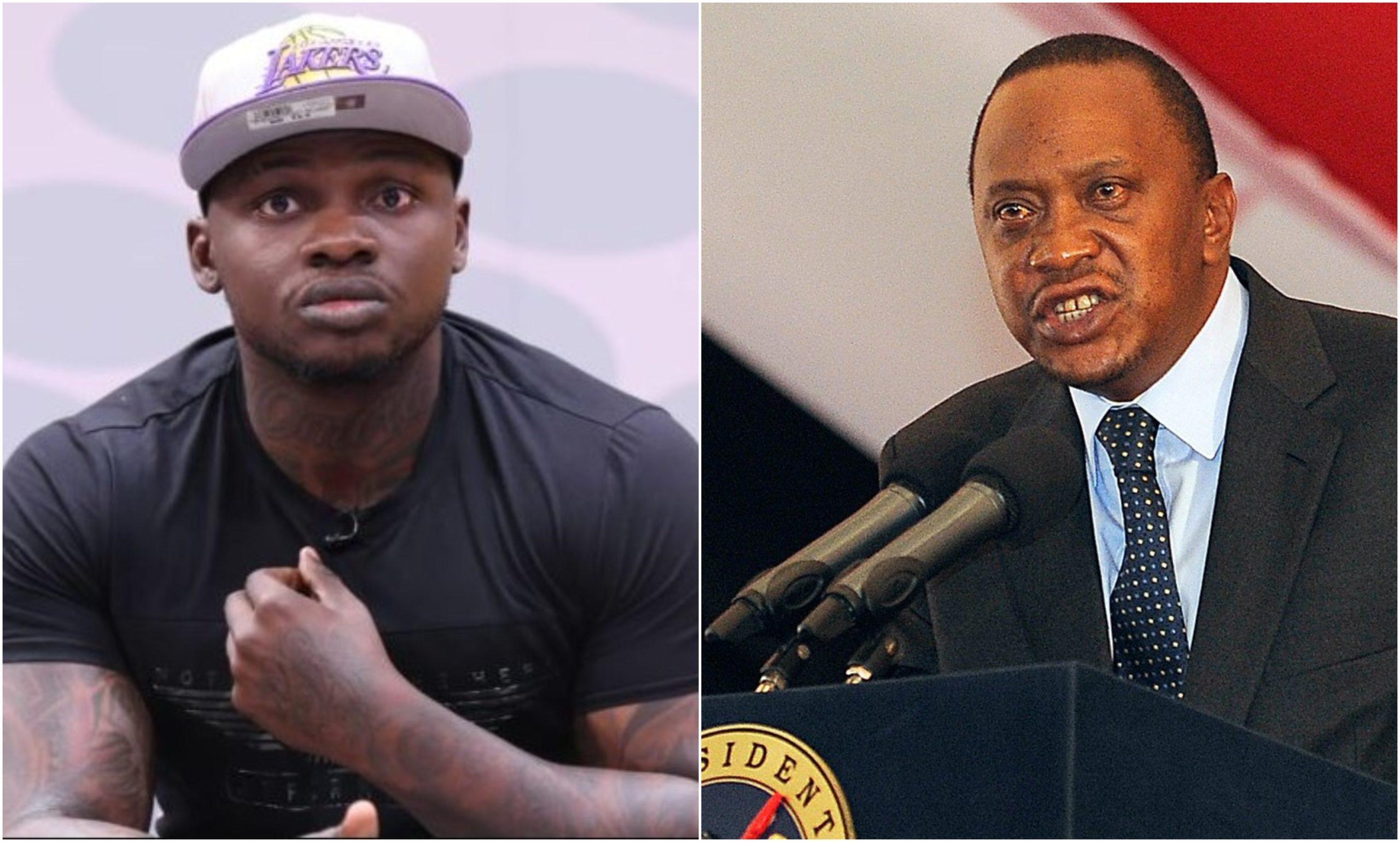Khaligraph Jones' open letter to Uhuru lands him in hot soup