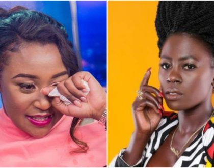 """Pole sana love,"" Betty Kyallo consoles Akothee after tragic loss"