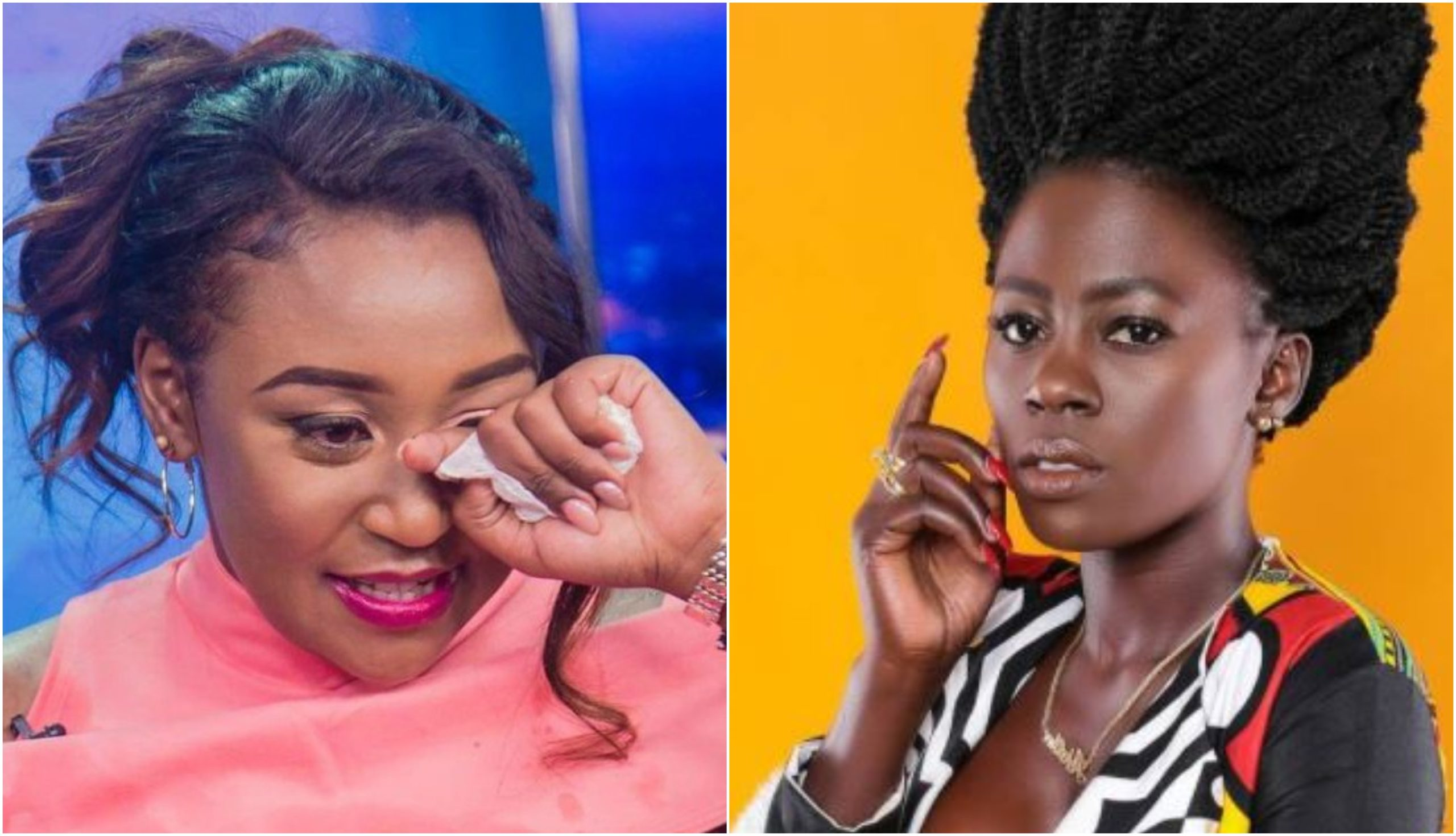 """Pole sana love,"" Betty Kyallo consoles Akothee after tragic loss"