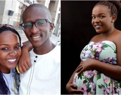 Njugush's wife Celestine Ndinda finally addresses pregnancy rumors (Video)