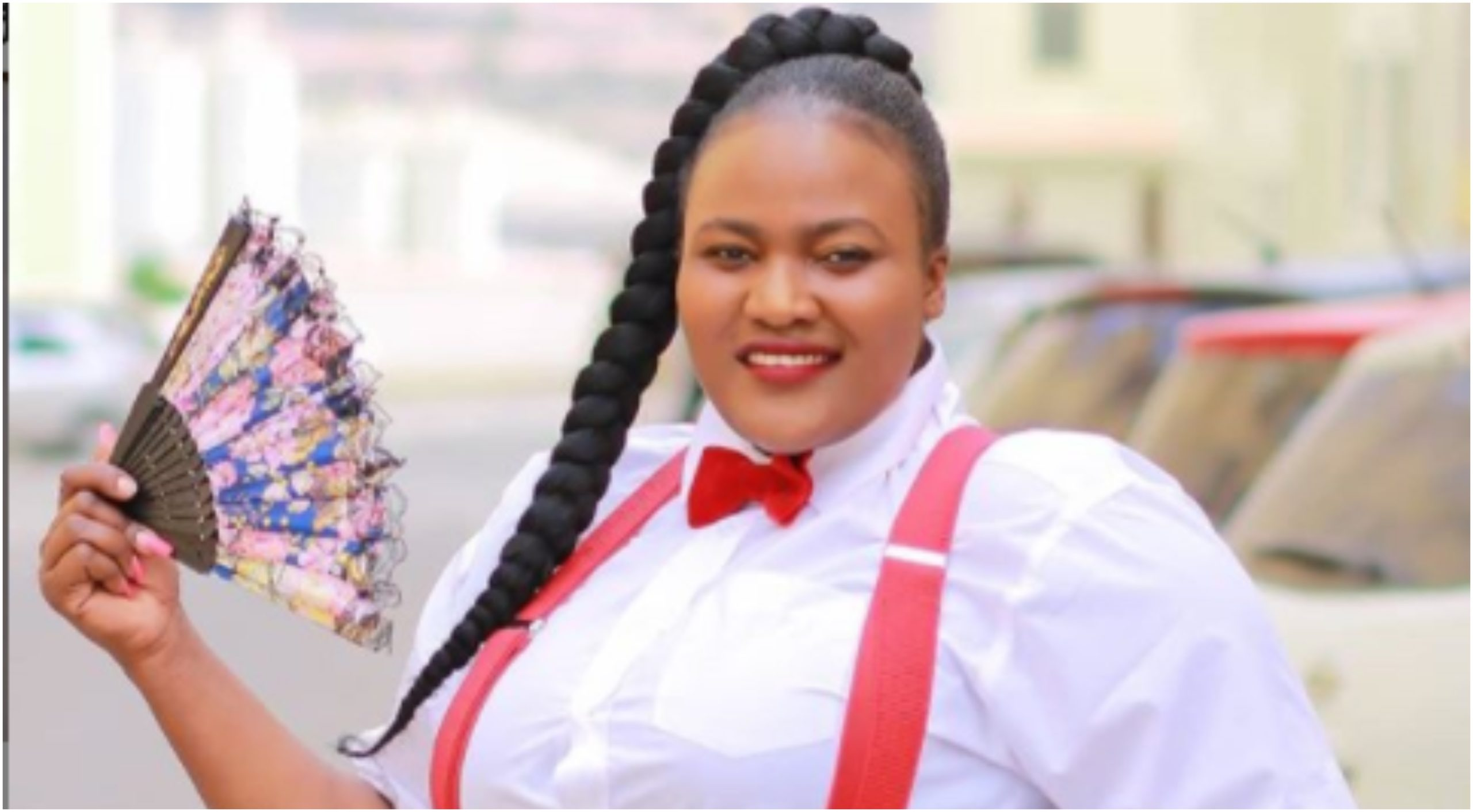 Never before seen photo of Auntie Boss actress Silprosa's first stone house that has left Kenyans in shock