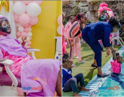 10 spectacular photos from Betty Bayo's daughter's lavish birthday party that are a sight to behold