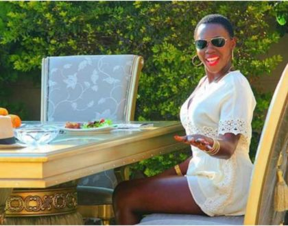 Akothee fashionably claps back at haters with detailed tour of her extravagant kitchen suite (Video)