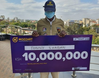 Mozzartbet unveils new jackpot winner, but he chooses to hide his face!