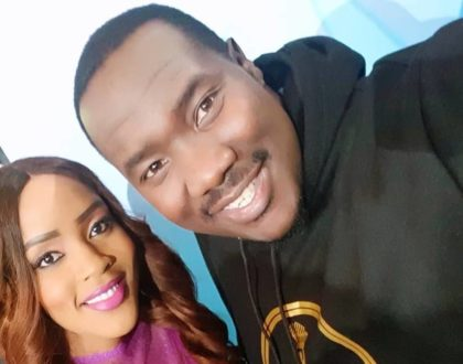 """""""You are a perfect example of fire and light and calmness!"""" Willis Raburu pours out his heart to Joey Muthengi"""