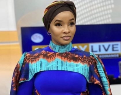 Never seen before hot photo of Lulu Hassan back in high school excites Kenyans