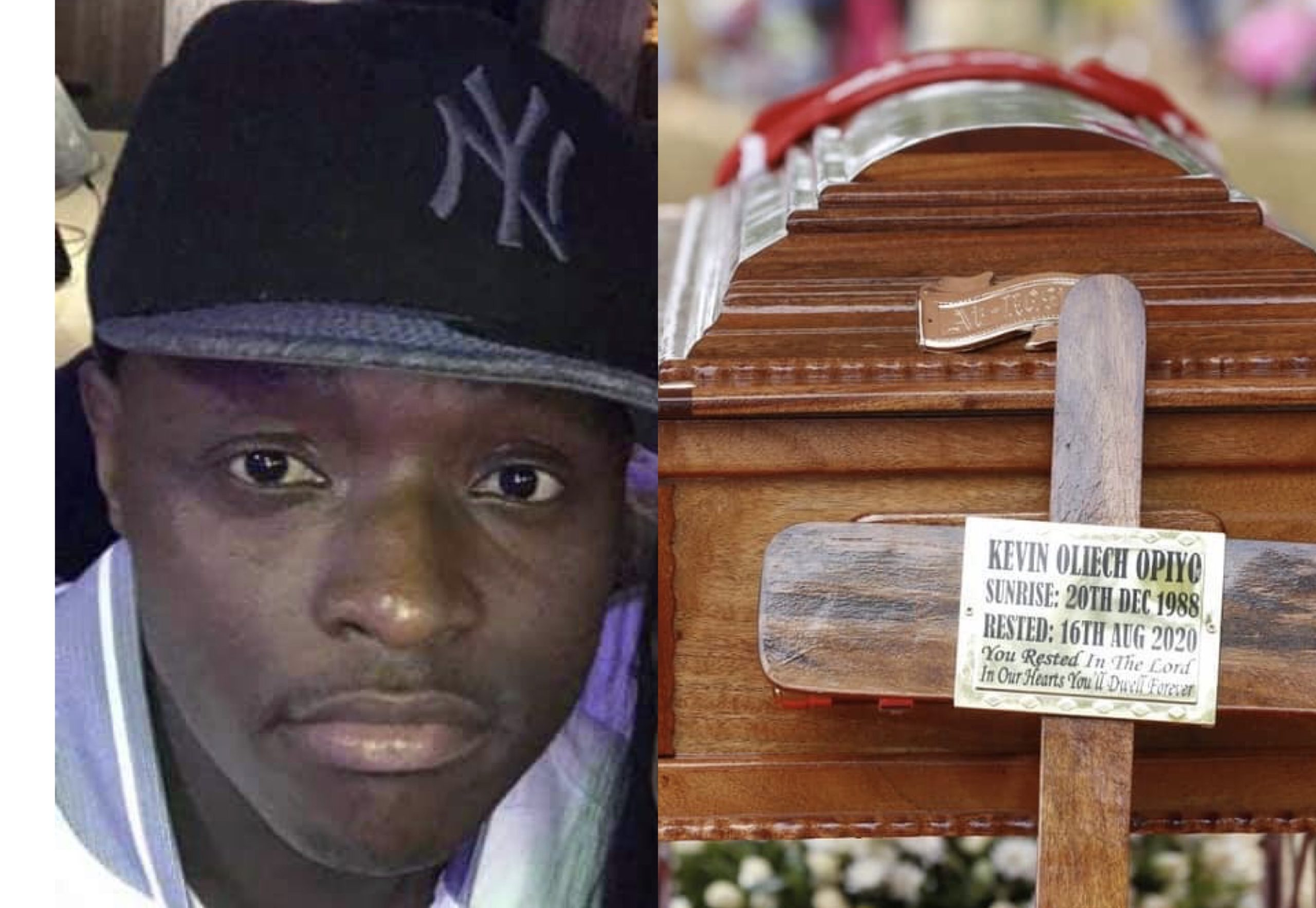 The late Kevin Oliech finally laid to rest (Photos)