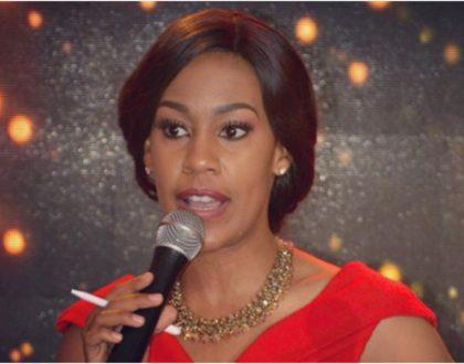 Victoria Rubadiri proudly wins BBC's Komla Dumor Award
