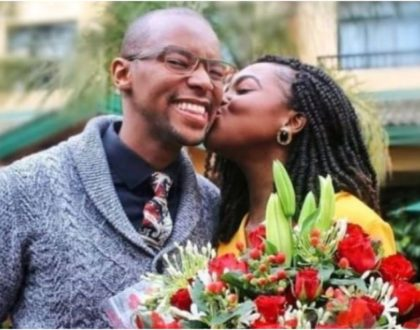 Waihiga Mwaura sweetly adores wife Joyce Omondi after bagging huge ambassadorial deal with US firm