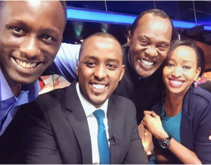 Former Citizen TV couple Janet Mbugua and Hussein Mohamed drop major hint on possible comeback after grand reunion (Photo)