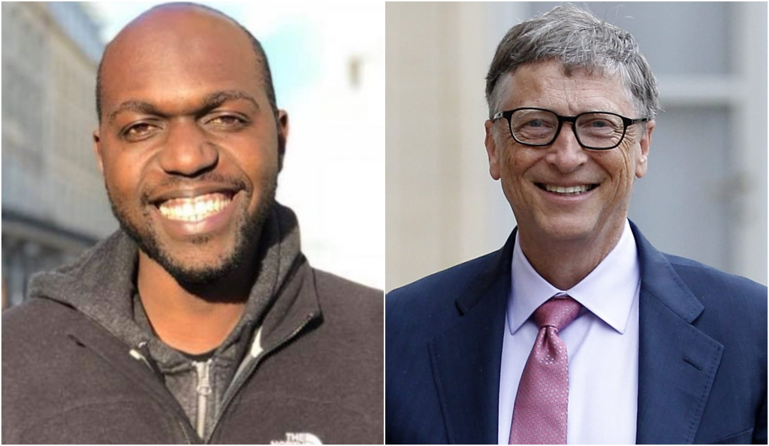 """From interviewing Junet Mohammed and Sonko,"" Netizens react as Larry Madowo interviews World's billionaire, Bill Gates"