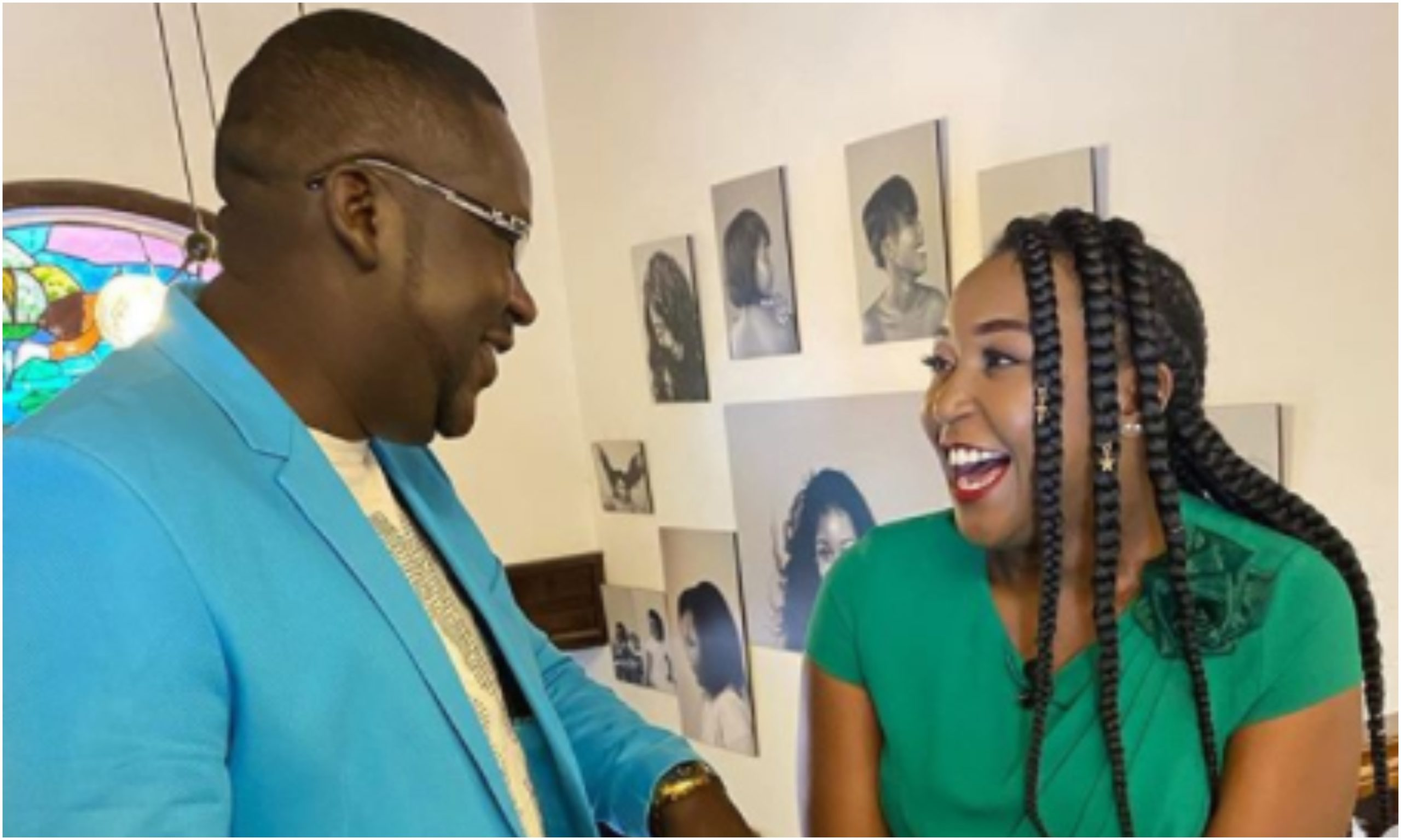 Why Betty Kyallo's interview with Churchill was so special to her