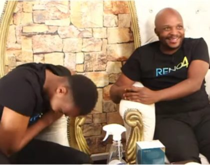 Jalang'o forces Pascal Tokodi to cry during Live interview (Video)