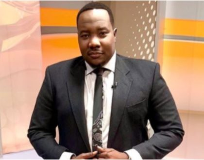 Willis Raburu's disturbing posts on the late baby Adana sparks mixed reactions