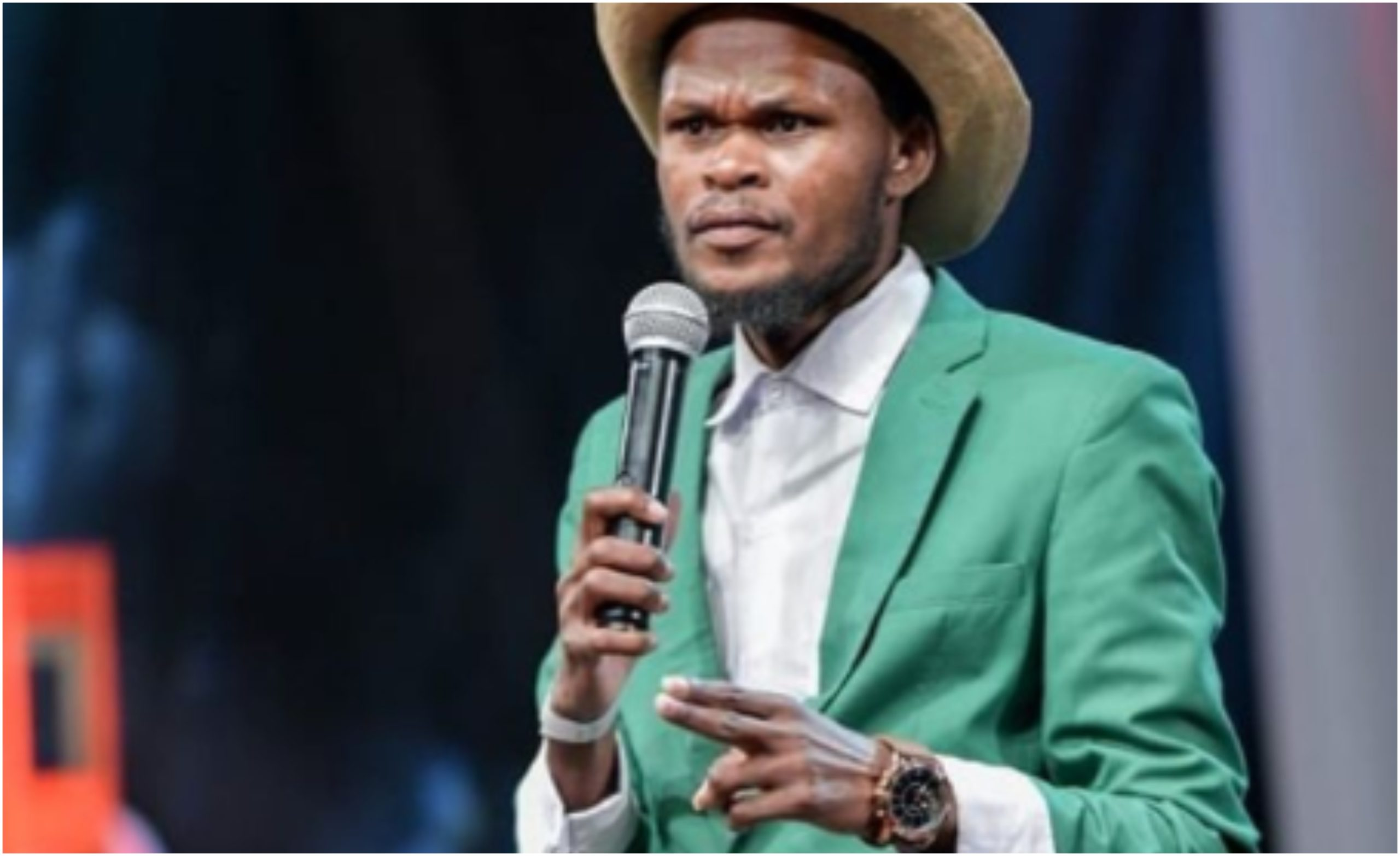 Sad! Comedian Othuol Othuol rushed to hospital after his health condition worsens