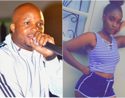 Jalang'o gets it rough after a suggestive photo of him with teen socialite Shakilla emerged