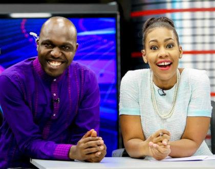 Larry Madowo and TV sweetheart, Victoria Rubadiri to reunite soon?