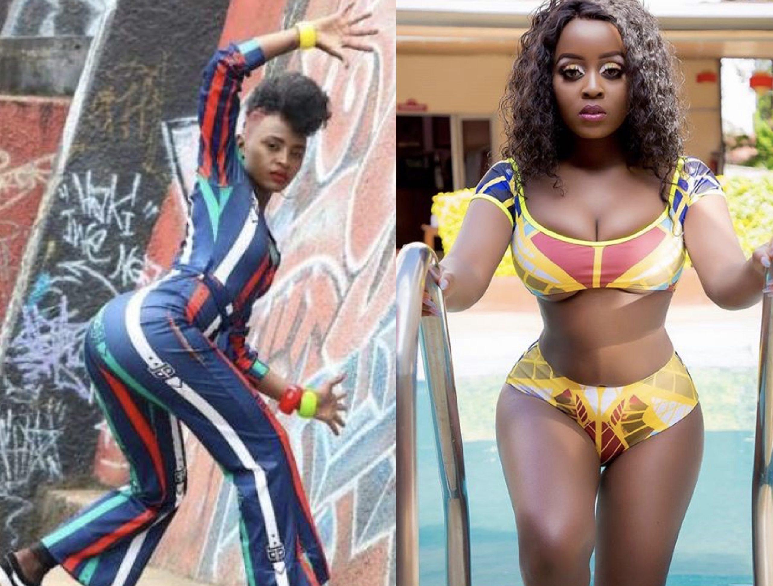 Savage! Aggie Sauti Sol's 'Short & Sweet ' vixen takes a swipe at Nadia Mukami photoshopped body