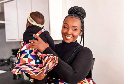 Catherine Kamau leaves many fighting baby fever with new photo of 9 month old daughter