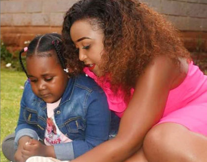 Betty Kyallo gives daughter, Ivanna a ridiculously new expensive gift (Photos)