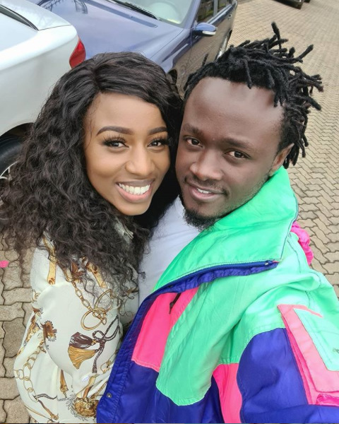 Bahati and his missus