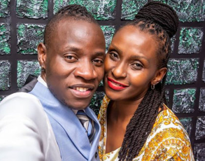 Kupendwa raha! Guardian Angel's aged girlfriend continues to show why the singer remains addicted to her love