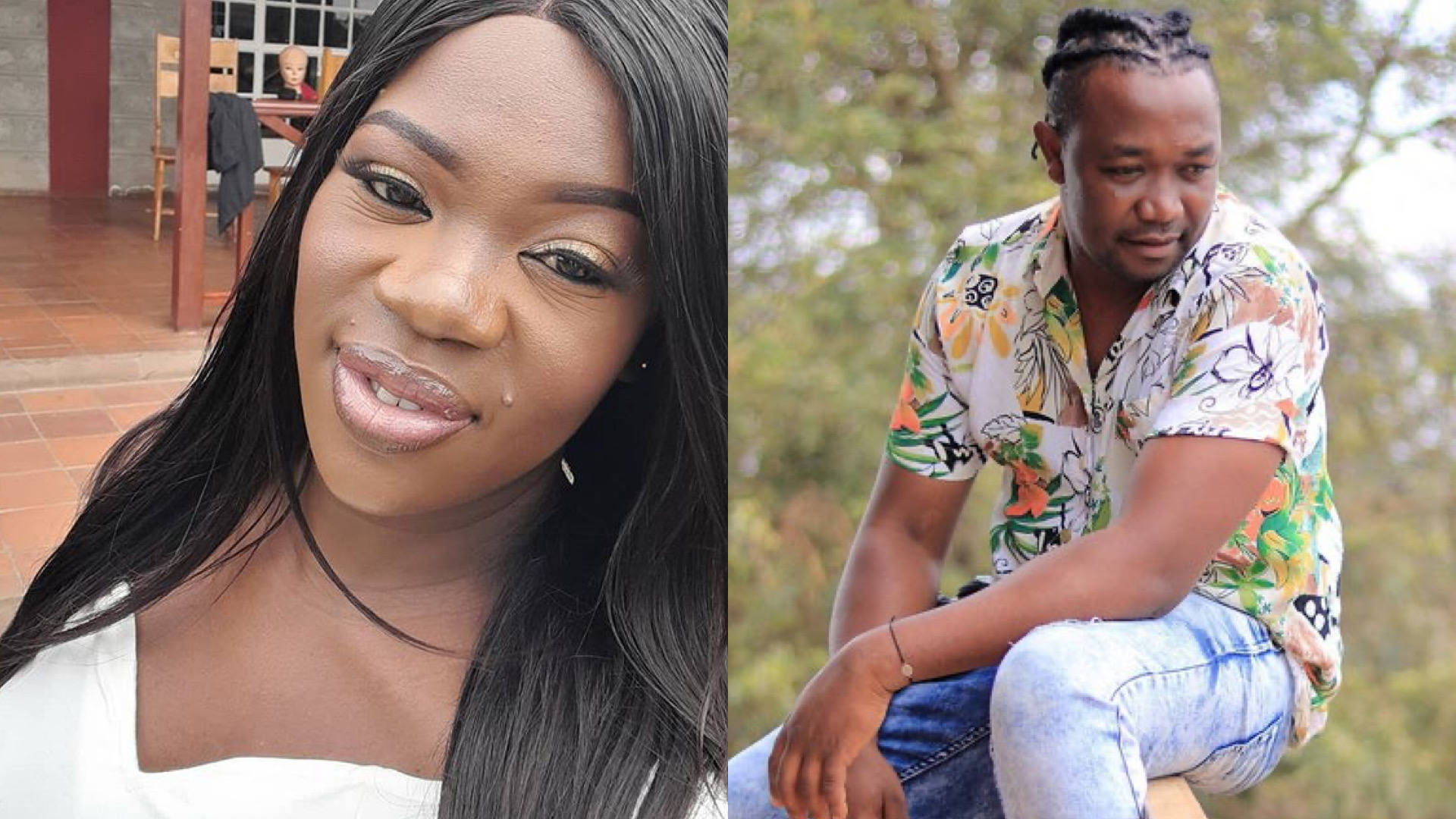 Ruth Matete's ex boyfriend addresses rumours claiming he squandered her TPF price money, Ksh5 million