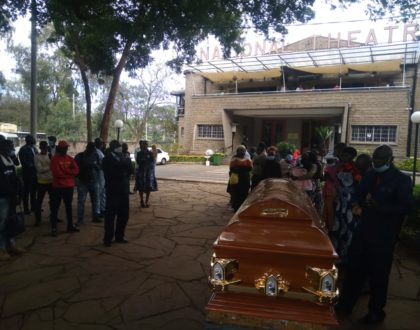 Fans and Friends turn out in huge numbers to pay their last respects to the late Othuol Othuol (Video)