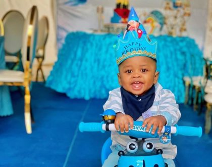 Fit for a prince! Tanasha Donna throws lavish birthday to celebrate baby Naseeb Junior's 1st birthday (Photos)