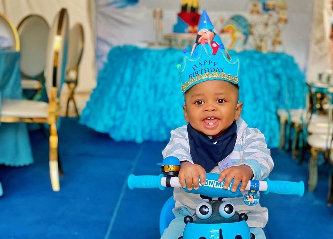 Fit for a prince! Tanasha Donna throws lavish birthday to celebrate baby Naseeb Junior's 1st birthday (Photos)