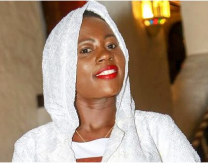Heavily pregnant Akothee shows off expensive maternity suit in classy throwback photo