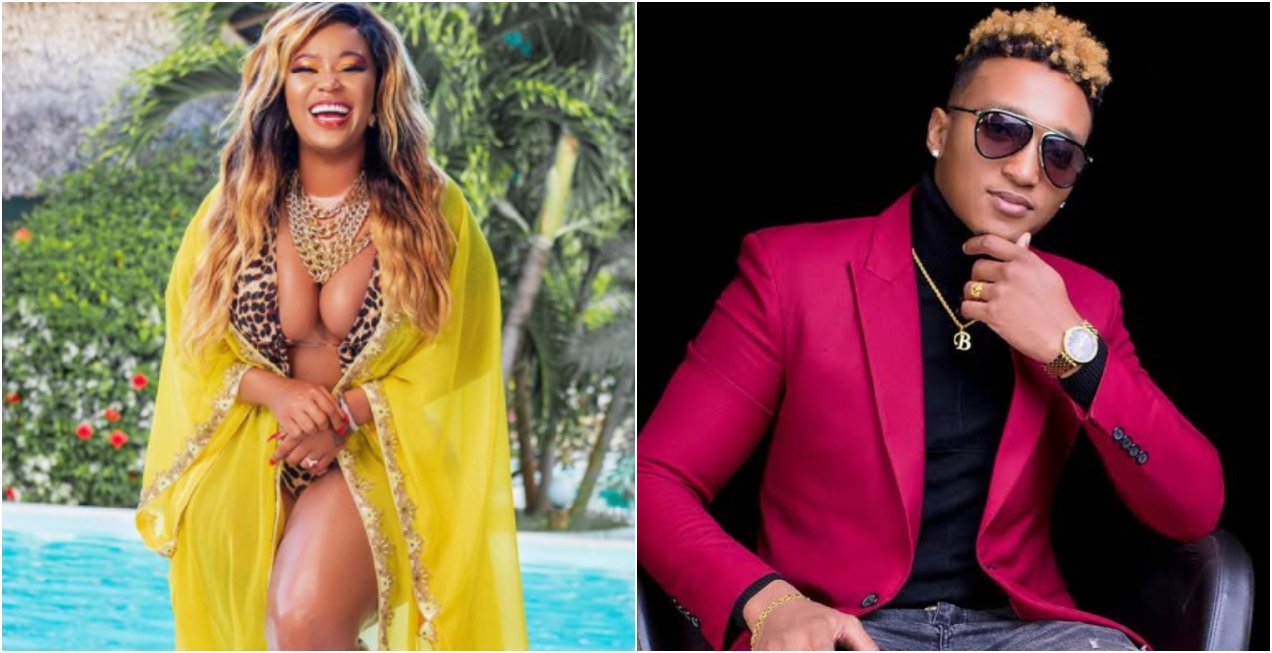 """""""I don't need no one else but you,"""" Brown Mauzo makes solemn vow to fiancée Vera Sidika"""