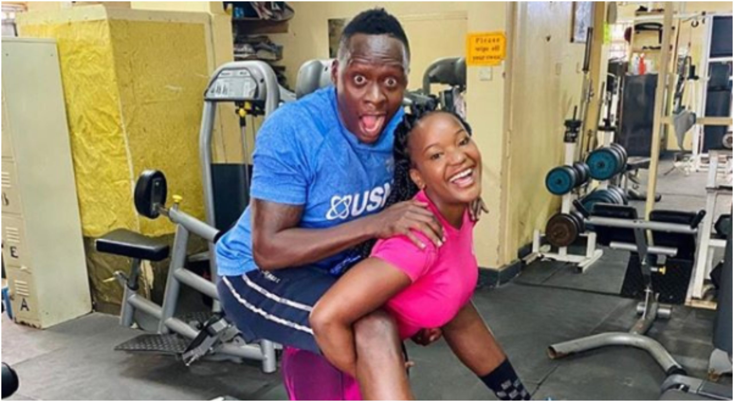 Oga Obinna cheating on wife with city socialite Sherlyne Anyango? (Photos)
