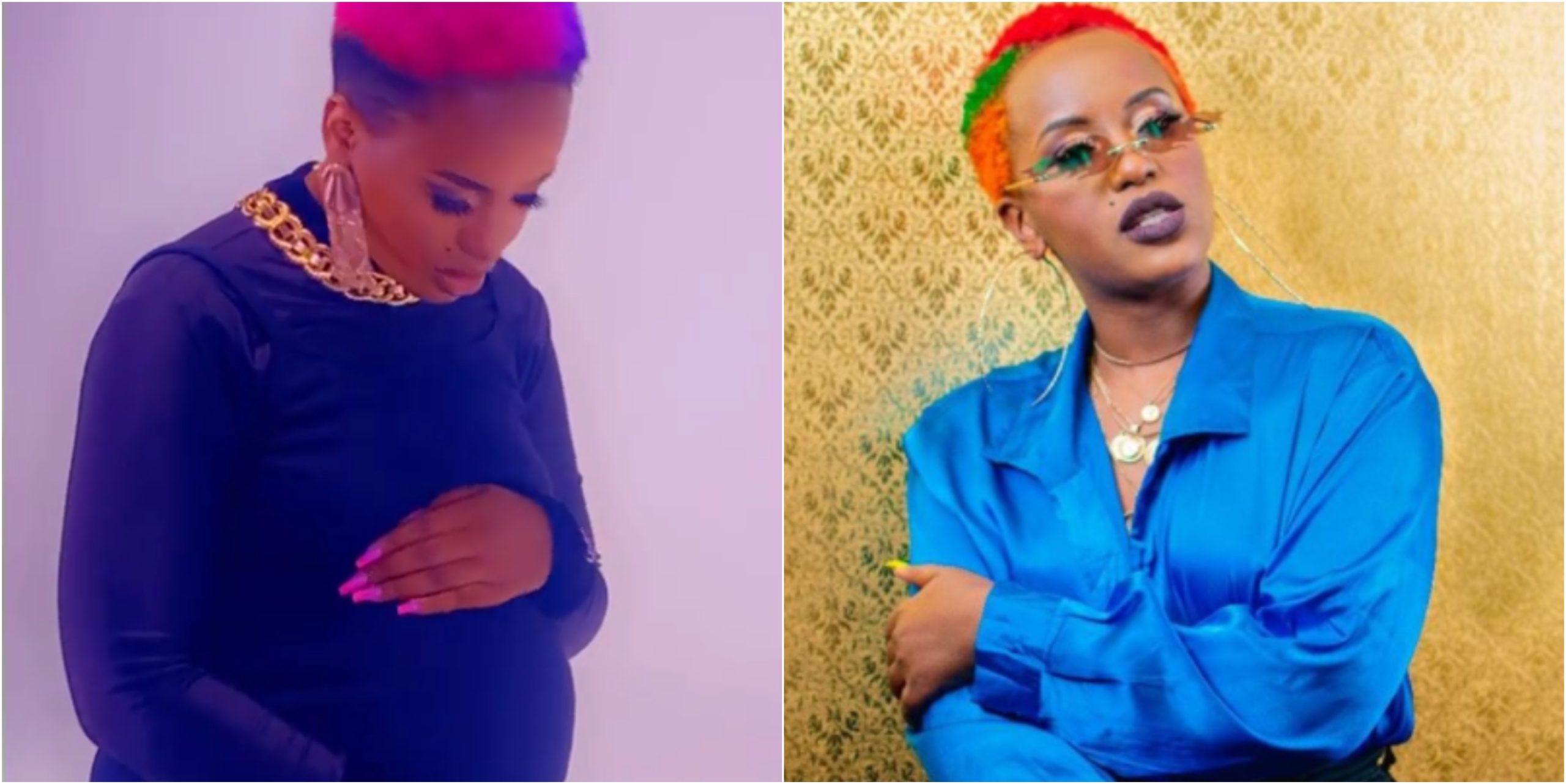"""""""Ameniruka kipetero kiyesu,"""" Femi One exposes rumored baby daddy"""